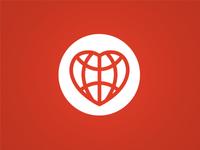 Heart Logo V1 Dribbble