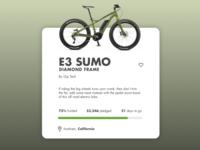 Daily UI challenge #032 — Crowdfunding