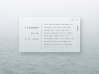Daily UI challenge #065 — Notes Widget