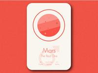 Space Card Series (5/9) - Mars