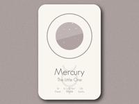 Space Card Series (8/9) - Mercury