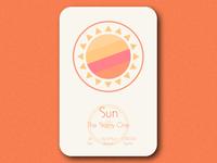 Space Card Series (9/9) - Sun