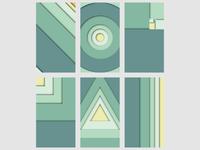 Fibonacci Inspired Backgrounds 3