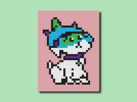 Snuffles Pixel Art