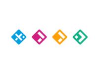 Jahia product family logos