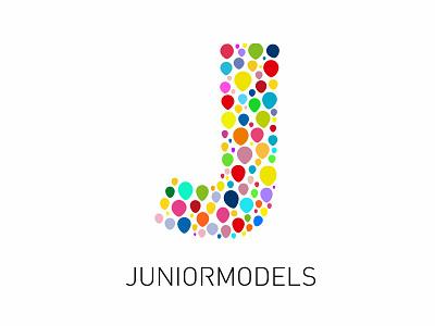 Juniormodels Logo uidesign branding logodesign