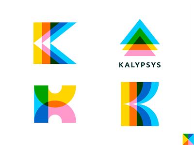 Kalypsys Concepts [wip] minimalist icon logo design vector design logo brassai