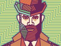 Rameet Chawla - Gentleman [portrait & pattern]