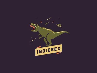 IndieRex [final version] adline brassai szende logo brading rex t-rex games planet