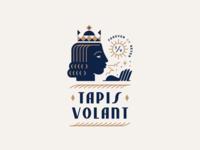 Tapis Volant crown badge magic head king