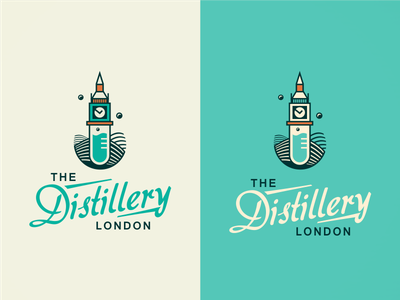 The Distillery London [ #1/WIP] logo design logo agency brassai szende london video tower icon england united kingdom british