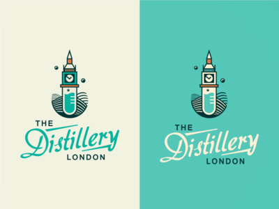 The Distillery London [ #1/WIP] logo design logo agency brassai szende london video tower icon england united kingdom british