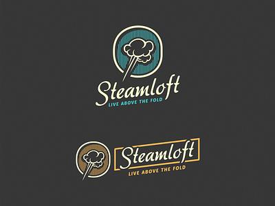 Steamloft [Final Version] adline brassai szende branding logo steam
