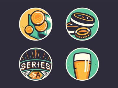 Beer/ Money/Cookie [details from a recent project] adline brassai szende beer cookie money print label