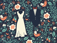 Wedding Invitation & Wine Labels [old project - final version]