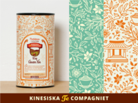 Tea Labels for cans [Kinesiska Te Compagniet]