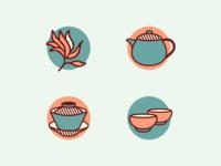 Icons [Kinesiska Te Compagniet]