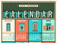 Calendar 2016 windows