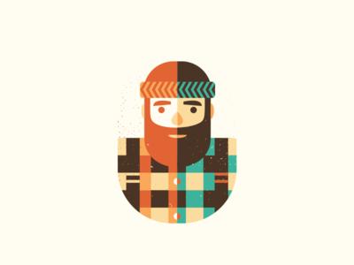 The Lumberjack Buddy beard coffee buddy pal dude lumberjack szende brassai adline