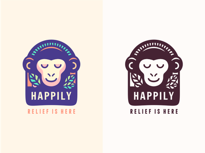 Happily [concept Nr.2 - wip] happiness happy serenity social exotic zen smiling monkey szende brassai