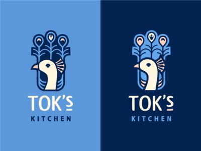 Tok's Kitchen [#1 concept - wip] feather fork food kitchen peacock szende brassai adline