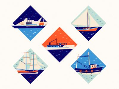 Boats & Ships mast water waves ocean sea ship boat brassai adline