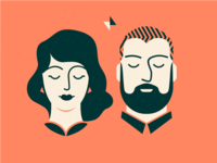 The Couple [ Print Design ]