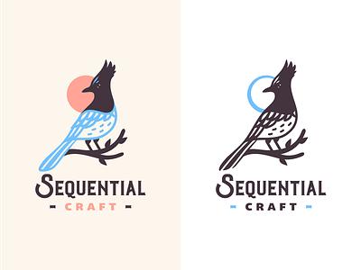 SC  [ concept #1 ] branding logo canada stellers jay wildlife nature craft bird brassai szende