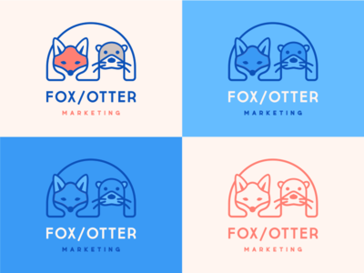 Fox / Otter Marketing  [ concept #1 ]