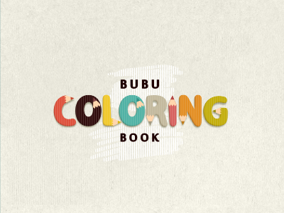 Bubu coloring book