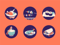 Food Icons [ Recolored ]