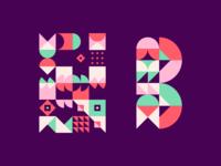 Geo Pattern & B