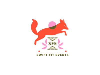 Swift Fit Events [ concept #3- wip ] energy fitness active play sun fox