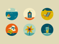 Summer/Seaside (icons)