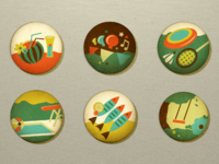 Summer icons more 2