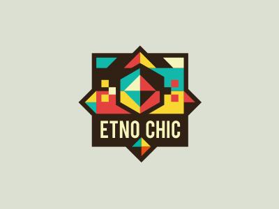 Etno Chic #2 adline logo brassai design emblem texture etno chic folklore local folk artisan handmade craft made inventive craft clothes custom furniture branding shop