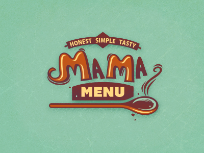 Mama Menu  #3 adline logo branding design brassai szende food pot cooking homemade traditional tasty menu mama vegetables soup hot warm fresh wholesome multi-cultural international