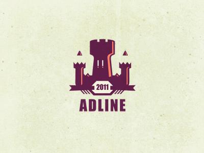 Adline  #2 [wip] logo design graphic design adline barssai szende logo design tower pencil castle logo designer branding personal color palette advertising