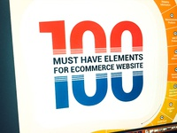100 Must Have Elements For Ecommerce Website