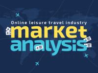 Online Leisure Travel Industry Market Analysis Infographic