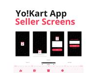 Yo!Kart Seller App Design
