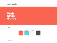 Paper Weight Style Guide