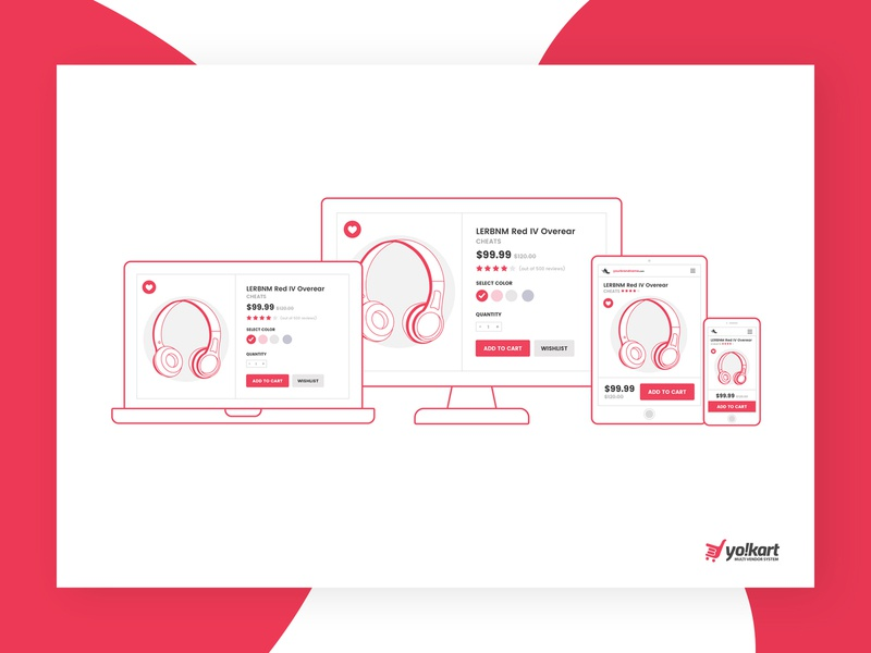 Responsive Ecommerce Section For Video