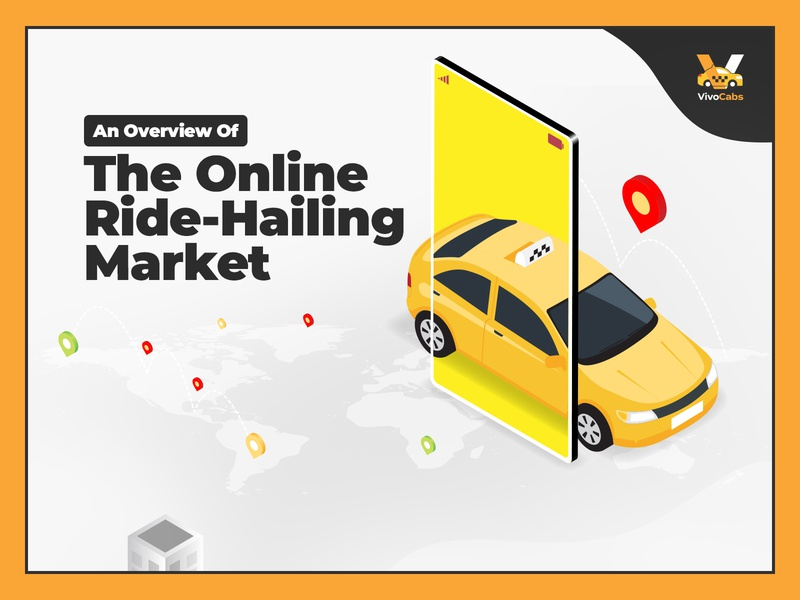 Ride Hailing Infographic For VivoCabs