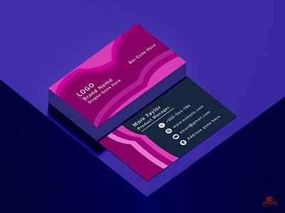 Business Card Design Concept