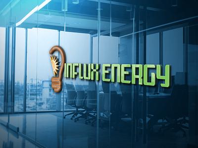 Green Energ Logo Concept energy logo professional logo modernlogo logo design logo