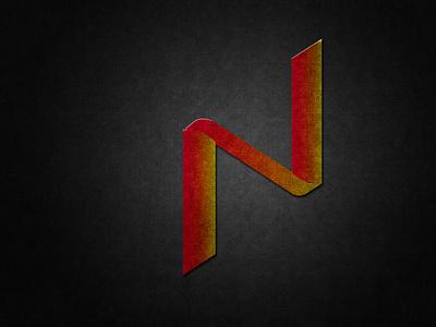 N Letter Logo design art logo design logo
