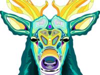 Elk Bust - Northern Standard