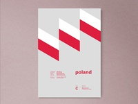 Poland | World Cup 2018 Poster Series