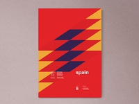 Spain | World Cup 2018 Poster Series